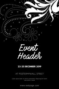 Elegant Event flyer design template