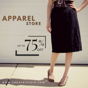 Elegant Fashion Discount Template
