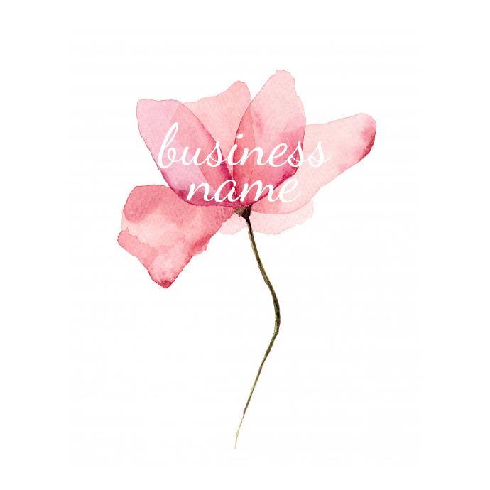 Elegant Flower Logo