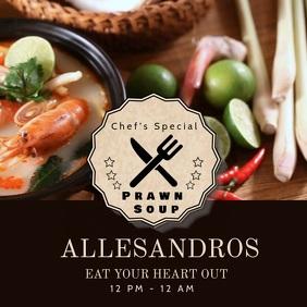 Elegant Food Video Template