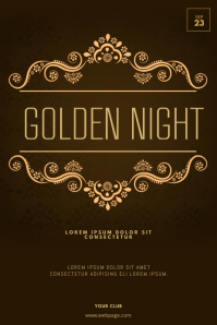 Elegant Gala Flyer template