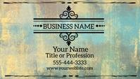 Elegant Gold Black Abstract Business Card Visitekaartje template