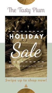 Elegant Holiday Sale Instagram Story Template