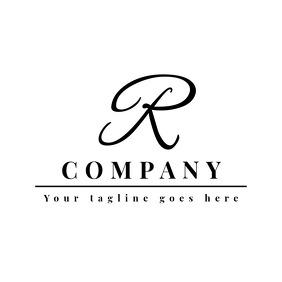 elegant signature logo
