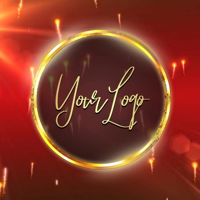 elegant video logo design template 徽标