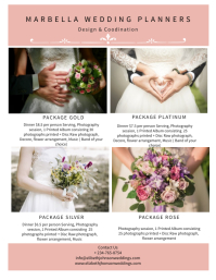 Elegant Wedding Planners Flyer Template