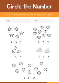 Elementary Class Mathematics Worksheet