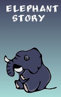 Elephant story Kindle/Book Covers template