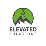 Elevator company logo design template Logotipo