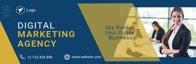 Email Header For Business template