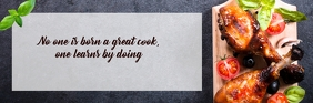 Email Header For Cooking template