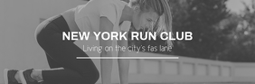 Email header for run club template