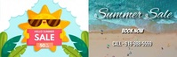 Email Header Video Summer Sale 50% off template