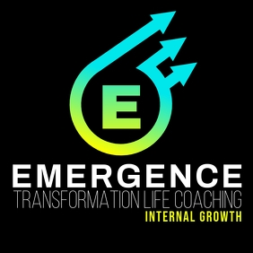 Emergence Logo template