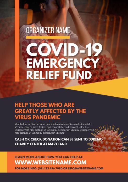 Emergency Relief Fund Flyer