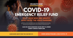 Emergency Relief Fund Facebook Shared Image template
