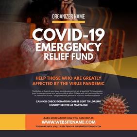Emergency Relief Fund Instagram Post