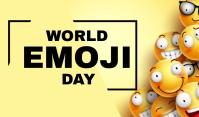 Emoji Day Etiqueta template