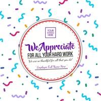 Employee Appreciation Day 2021 Template Instagram Post