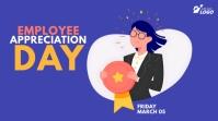 Employee Appreciation Day Twitter Post template