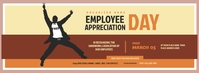 Employee Appreciation Day Facebook Cover Phot template