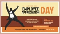 Employee Appreciation Day Twitter Post template