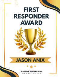 Employee Award Template Flyer (US Letter)