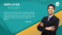 Employee Spotlight Blog Header post ส่วนหัวบล็อก template