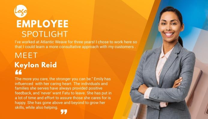 Employee Spotlight blog Header post template