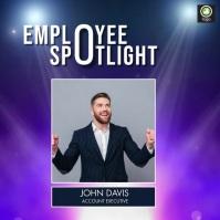 Employee Spotlight Instagram-Beitrag template