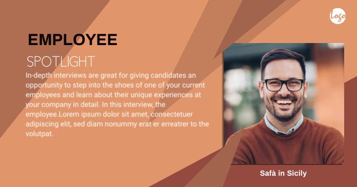 Employee Spotlight Facebook shared template