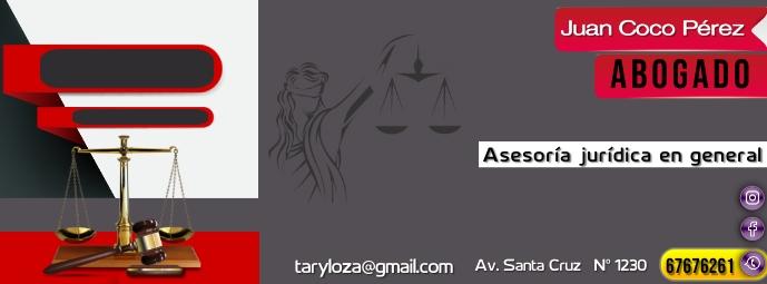 encabezado facebook abogados template