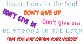 Encouragement Flyer
