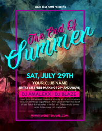 170 customizable design templates for summer beach party flyer