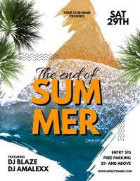 End Of Summer Flyer