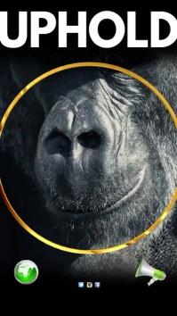 Endangered Animals advert Instagram Story template