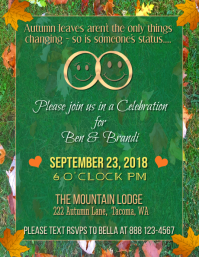 Engagement Party Flyer