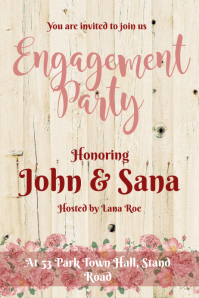 Engagement Party Template