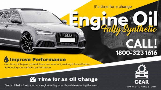 Mobil Oil Change >> Engine Oil Change Advertisement Video