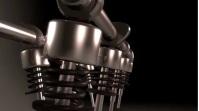 Engine piston Foto di copertina del canale YouTube template