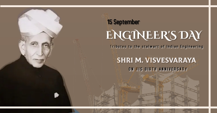 Engineers Day Facebook Shared Image template