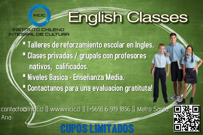 English Class Flyer Template Postermywall