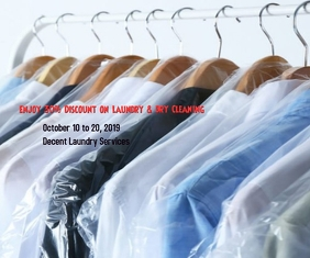 Enjoy 30% Discount on Laundry and Dry Cleanin