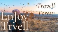 Enjoy Full Travel Pos Twitter template