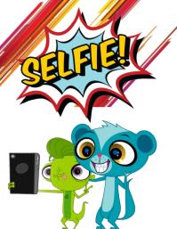 Enjoy My Selfie Ulotka (US Letter) template