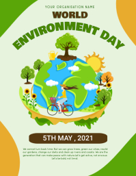 Environment,earth day,event Flyer (format US Letter) template