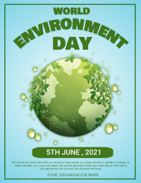 Environment,earth day,event Poster template