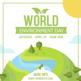 Environment Awareness Instagram Post Template