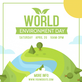 Environment Awareness Instagram Post Template