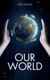 environment book cover Sampul Buku template